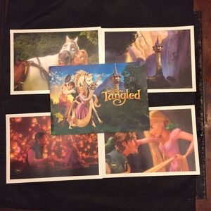 Disney's Tangled 4 Limited Edition Lithograph Prints for Sale in Newark, CA