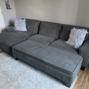 Living Room Couches From Costco (With Ottoman) for Sale in Vancouver, WA