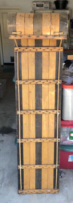 Wooden Toboggan for Sale in Irvine, CA