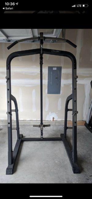 Workout Rack included 200 lbs weights for Sale in Redwood City, CA