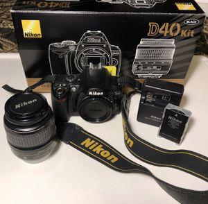 digital camera Nikon D40 kit for Sale in Orange City, FL
