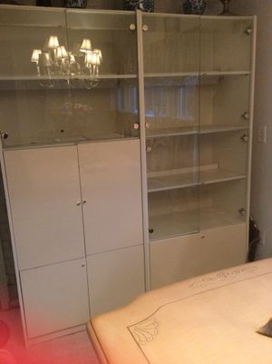 1 Large Armoire Buffet + 2 corners for Sale in Silver Spring, MD