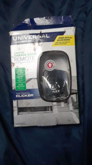 Chamberlain Universal 2 button garage door remote brand new for Sale in San Jose, CA