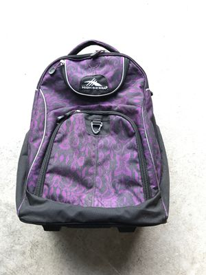 High Sierra travel portable rolling day pack also backpack for Sale in Evesham Township, NJ