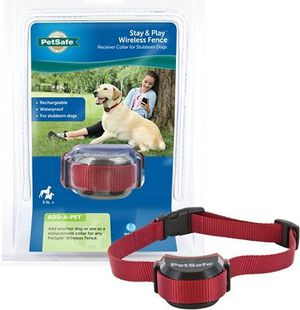 PetSafe Stay and Play Wireless Fence (receiver collar for stubborn Dogs for Sale in Alameda, CA