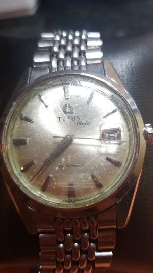 ANTIQUE TITUS MATIC BY GENEVE WATCH for Sale in Fairfax, VA