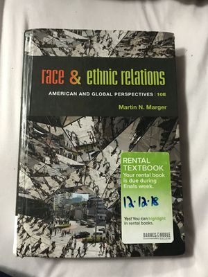 Race and Ethnic Relations College Book for Sale in Kent, WA