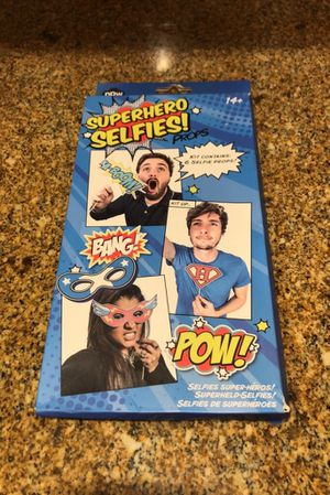 Superhero Selfies Photo Booth Props for Sale in East Providence, RI
