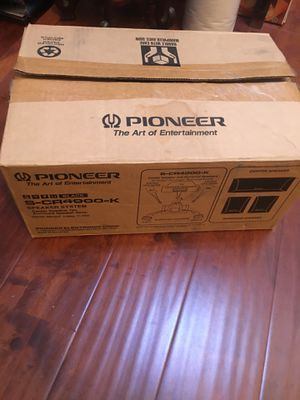 pioneer speaker system s cr4000 k surround sound new speaker only no receiver for Sale in Industry, CA