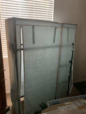 Open box, only used 1 mo portable closet/ storage. for Sale in Riverside, CA