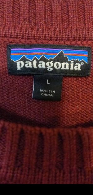 Men's large Patagonia wool sweater for Sale in Northglenn, CO