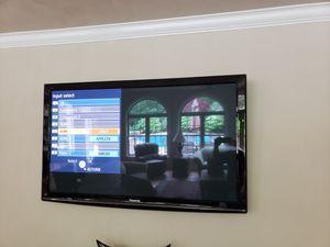 """Panasonic 65"""" Plasma TV for Sale in Virginia Beach, VA"""