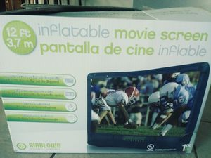 12ft inflatable movie screen for Sale in Hudson, FL