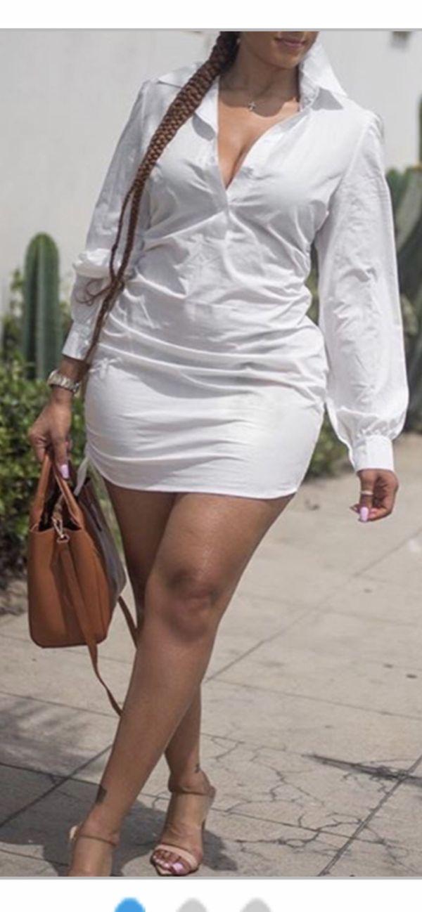 Brand new white mini dress