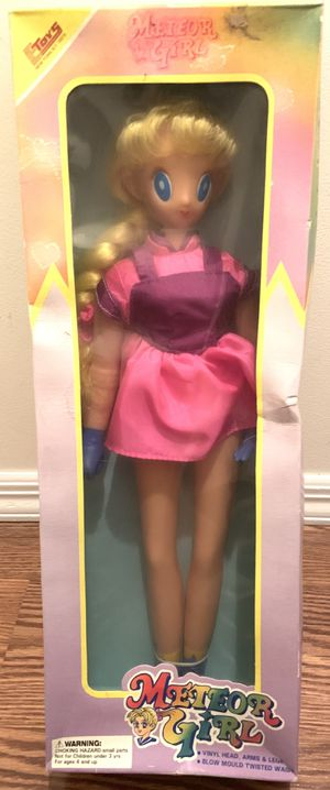 Vintage Blonde Meteor Girl Anime Doll Toy for Sale in Freehold, NJ