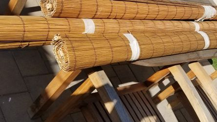Wooden Roll Down Shade for Sale in Garden Grove,  CA