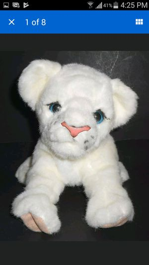 Furreal Friends Luv Cubs Baby White Lion -Lifesize Interactive Pet for Sale in Palatine, IL