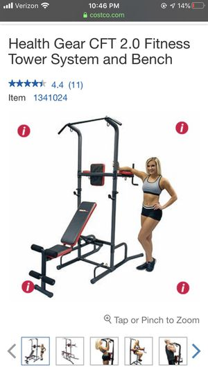 Fitness system with bench for Sale in San Jose, CA