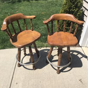 Bar stools with back for Sale in Indianapolis, IN