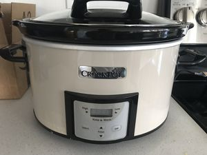Crock-Pot Slow Cooker 4-qt for Sale in Beverly, MA