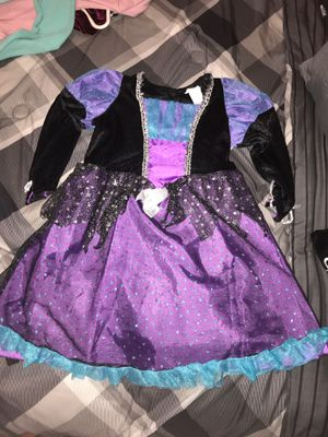 Kids size small witch dress up Halloween or just dress up costume for Sale in Philadelphia, PA