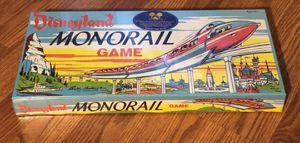 Disneyland Monorail Board Game SEALED IN BOX Parker Brothers Retro Re-Release for Sale in Spring Hill, FL