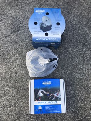 Manual Portable Satellite TV Antenna Kit for Sale in Battle Ground, WA