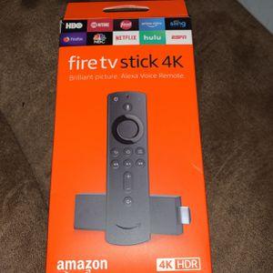 Fire Tv Stick 4K Brand New for Sale in Bonney Lake, WA
