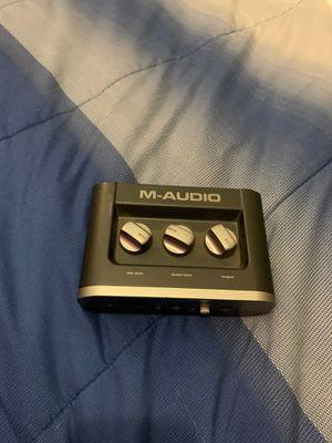 M-Audio Fast Track Audio Interface for Sale in Miami, FL