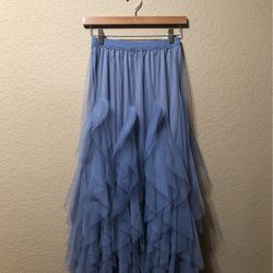 Pretty Blue Tulle Skirt, Size/M for Sale in San Clemente,  CA