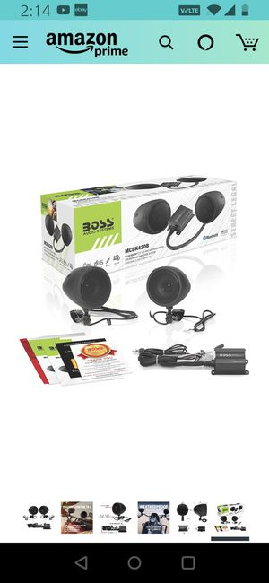 Bluetooth motorcycle speakers for Sale in Brooklyn, NY