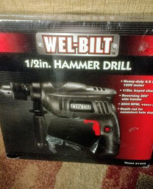 Hammer Drill with Milwaukee Hard Case for Sale in Kissimmee, FL
