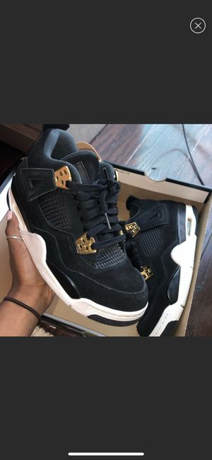 "AIR JORDAN 4 RETRO BG ""ROYALTY"" for Sale in Houston, TX"