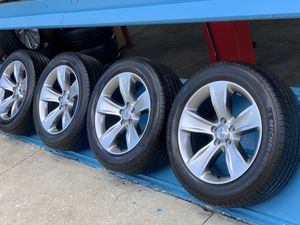 Brand new rims with tires for Toyota Sienna or ToyotaTacoma 5 Luck size 235/55r18 tires Michelin USA $750 for Sale in Kissimmee, FL