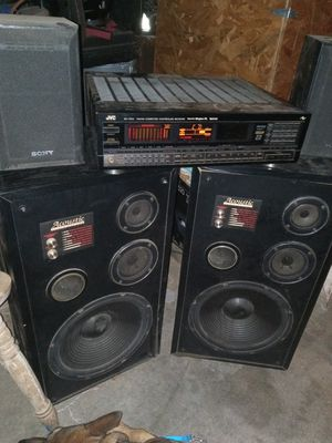 Home audio set up working. Great sound for Sale in San Diego, CA