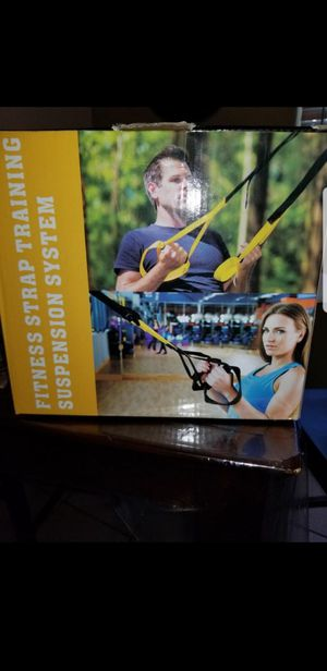 Bodyweight Fitness Resistance Trainer Kit with Pro Straps for Complete Body Workouts for Sale in Covina, CA