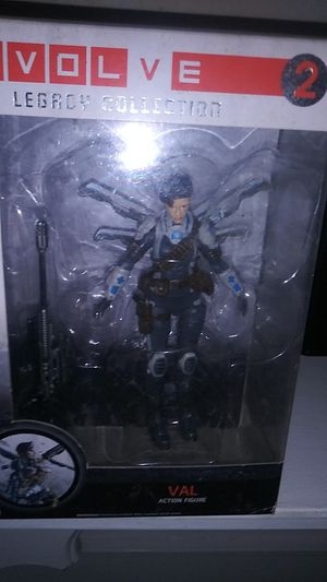 Evolve 2 legacy collection. Val action figure for Sale in Philadelphia, PA