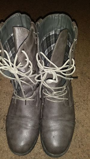 Grey boots for Sale in Henderson, NV