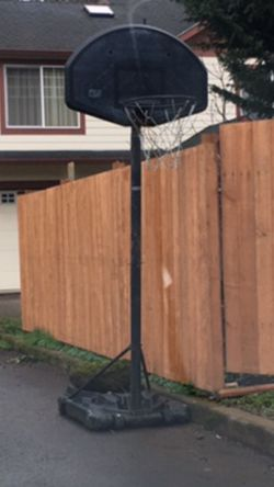 Free Basketball Hoop/ Pick Up only for Sale in Portland,  OR