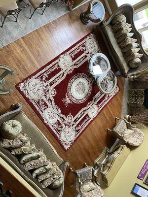 Beautiful Benetti Italia living room set for Sale in Utica, MI