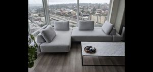Article Divan mist gray left sectional sofa (25% off) for Sale in Seattle, WA