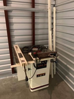 Jet 1 3/4 HP cabinet saw for Sale in Silver Spring, MD