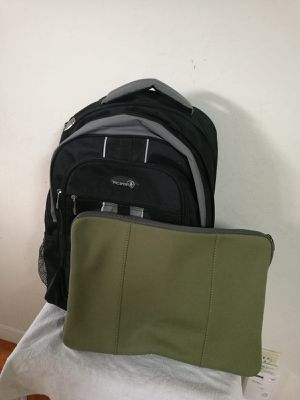 "17""laptop backpack & cover for Sale in Santa Clara, CA"