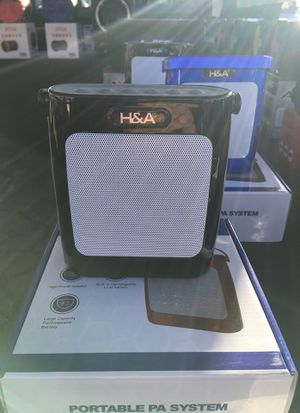 H&A portable wireless Bluetooth headphones for Sale in San Diego, CA
