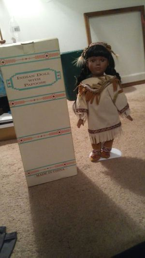 Antique Collectible Indian Doll for Sale in Greenville, SC