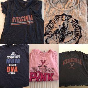 Women's UVA t-shirts - size M/L for Sale in Virginia Beach, VA