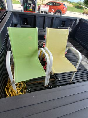 Two backyard kids chairs for Sale in Leander, TX