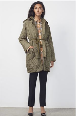 Authentic Burberry quilted jacket for Sale in Roselle, IL