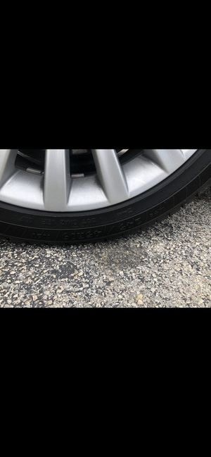 4 BMW RIMS FACTORY 19 good tires like new for Sale in North Miami Beach, FL