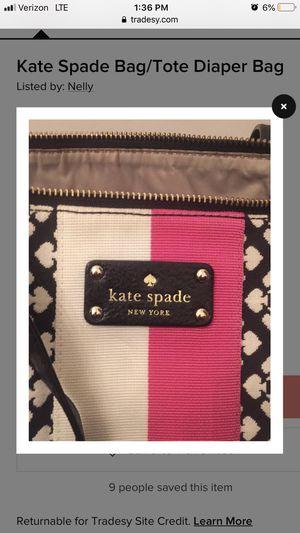 Brand new Kate Spade Diaper bag original $400 for Sale in Annandale, VA